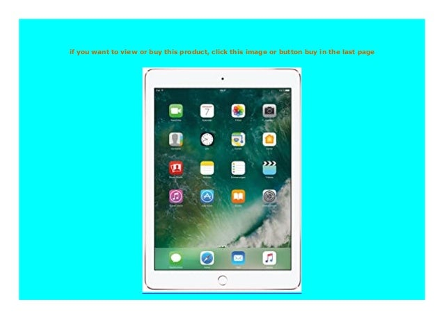 Best Buy Apple Ipad Pro Mm192fd A 24 63 Cm 9 7 Zoll Retina Display
