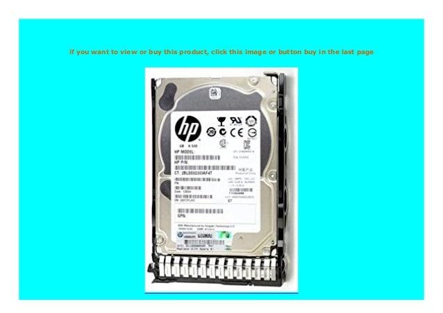 652615-B21 HP 653951-001 450GB 6G 15K SAS SC HD 737573-001