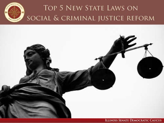Many new or revised laws take effect in the new year, including several aimed at reforming Illinois' social and criminal j...