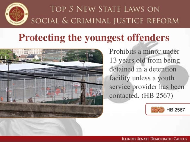 Limiting the number of minors tried as adults Eliminates automatic transfer of cases involving minors to adult courts, bas...