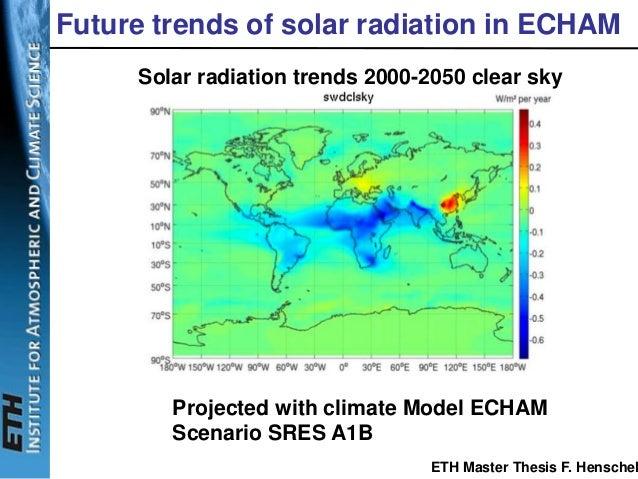 Thesis solar radiation