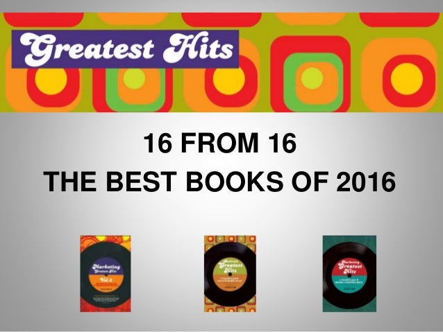 16 FROM 16 THE BEST BOOKS OF 2016