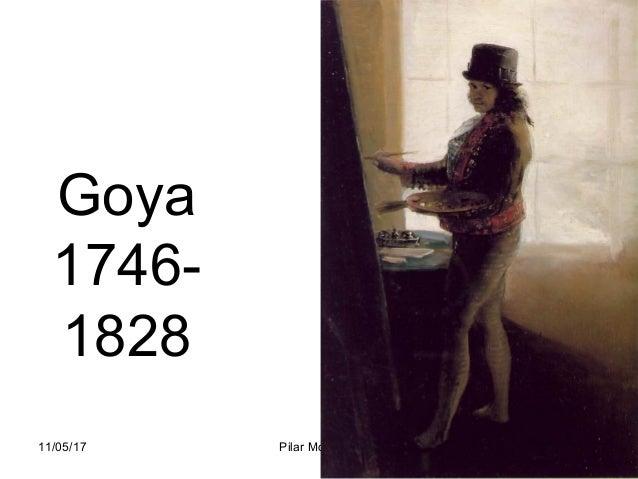 11/05/17 Pilar Morollón 1 Goya 1746- 1828