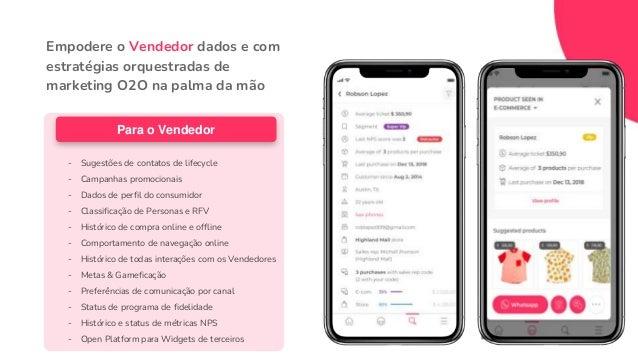 LOJA E-COMMERCE (WEB/APP) ONLINE OFFLINE VENDEDOR CLIENTE As 3 Camadas do Customer Centricity para Varejistas MARCA (Marke...