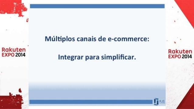 Múltiplos canais de e-commerce: Integrar para simplificar.