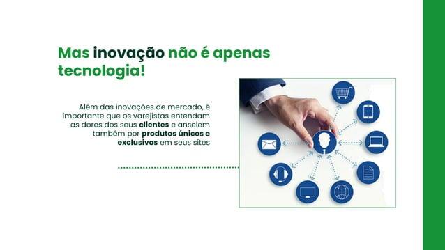 FRETE Criação de promoção de frete Mas inovação não é apenas tecnologia! Além das inovações de mercado, é importante que o...