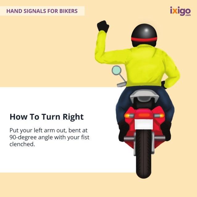 16 Hand Signals For Bikers Slide 3