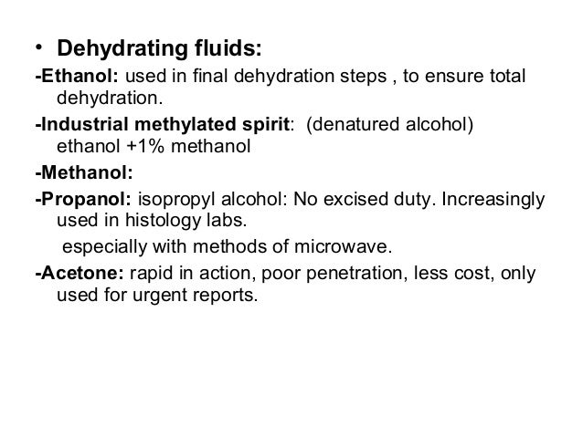 alcohol dehydration essay Being a secondary alcohol direct hydration reacts propene and water environmental sciences essay or dehydrated to.