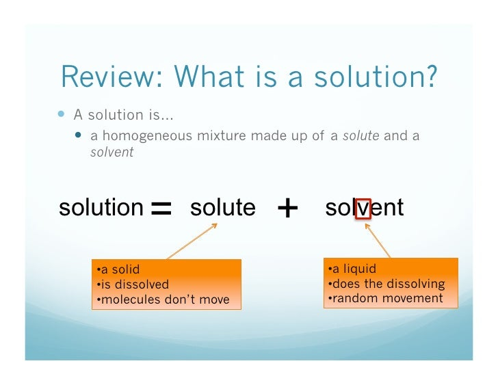 1 6 How Are Solutes Dissolved – Solute and Solvent Worksheet