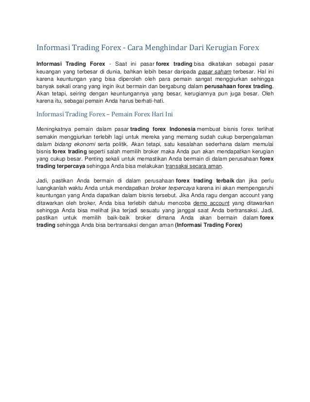 Berita Forex - Informasi Mata Uang Asing, Investasi, Valas