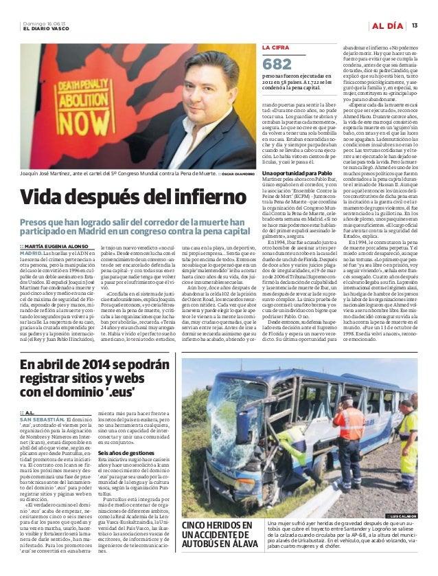 Una mujer sufrió ayer heridas de gravedad después de que un au- tobús que cubre el trayecto entre Santander y Logroño se s...
