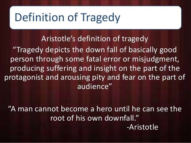 the characteristics of aristotles poetics The tragic hero, according to aristotle, must have four characteristics the first  and the foremost thing is that he should be good and this.