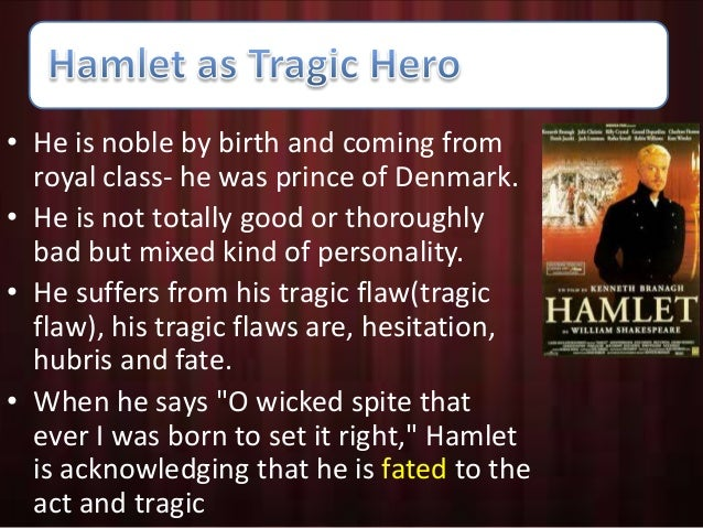 characteristics of tragic hero reference to hamlet dr faus 6