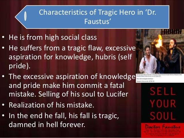 dr faustus as a tragic hero essay