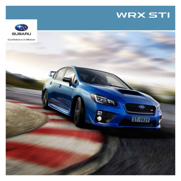 Do more of what you love to do, and make no apologies for it. The WRX STI were built to help you extract maximum excitemen...