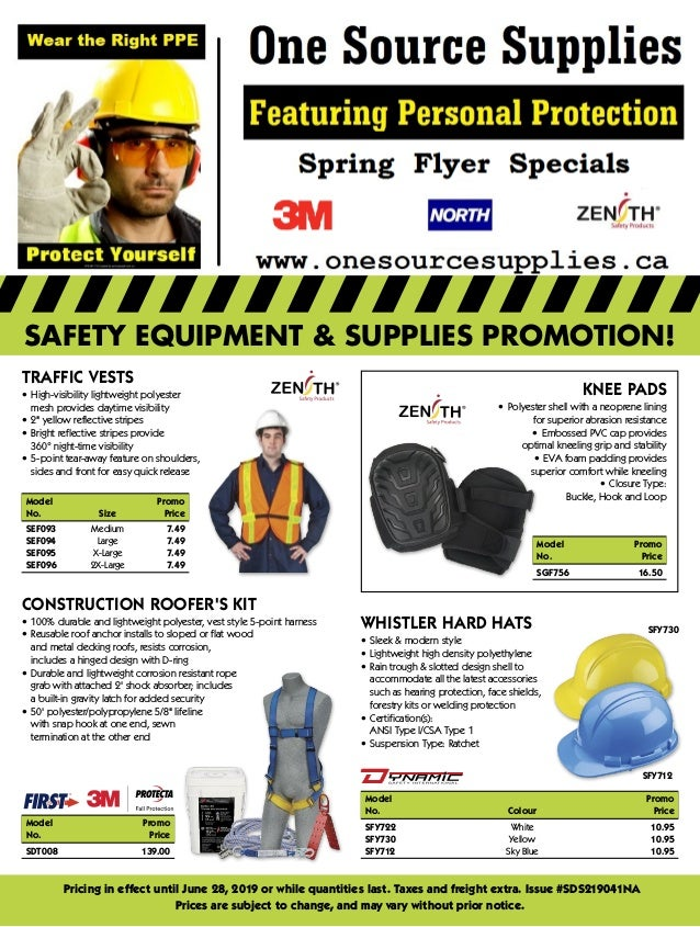 SPRING Safety Flyer Specials until June 28 2019