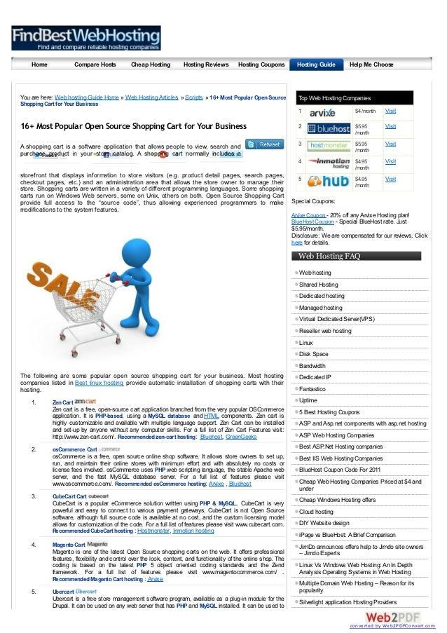 Home               Compare Hosts         Cheap Hosting          Hosting Reviews        Hosting Coupons          Hosting Gu...