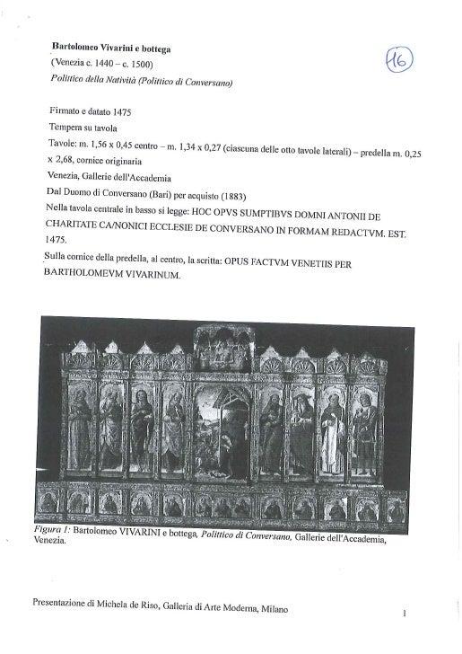 16 polyptique de la nativité, vivarini et atelier de riso