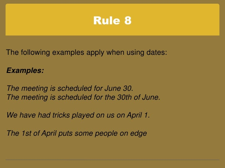 essay rules for numbers Using numbers when using numbers in essays and reports there are some rules to follow to make sure you use numbers in the right way.