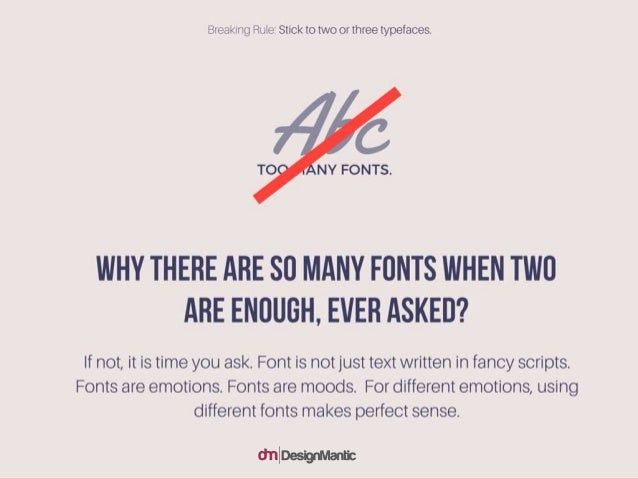 Why there are so many fonts when two are enough, ever asked? If not, it is time you ask. Font is not just text written in ...
