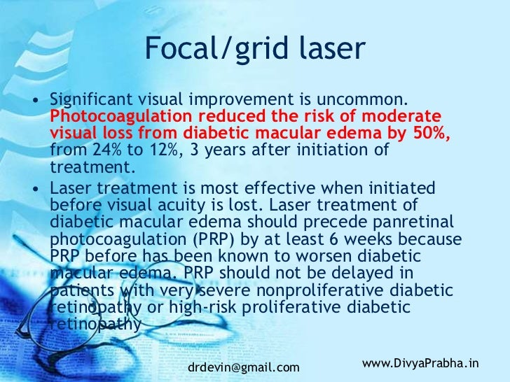 steroids macular edema