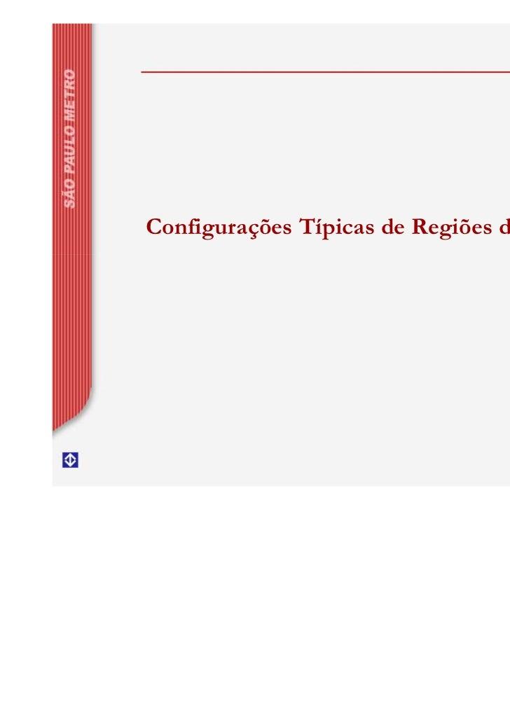 Configurações Típicas de Regiões de Manobra