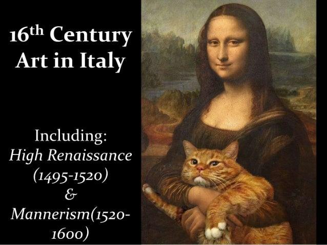 16th century italian renaissance