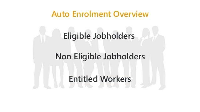 Employer duties under Auto Enrolment for Payroll Bureaus