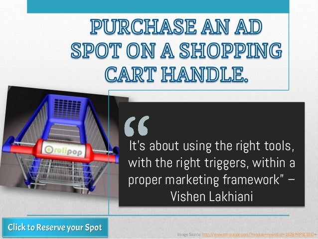 """It's about using the right tools, with the right triggers, within a proper marketing framework"""" – Vishen Lakhiani Image So..."""