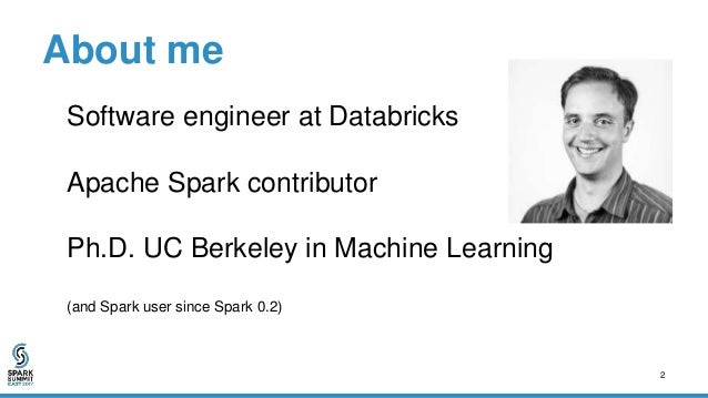 Tuning and Monitoring Deep Learning on Apache Spark Slide 2