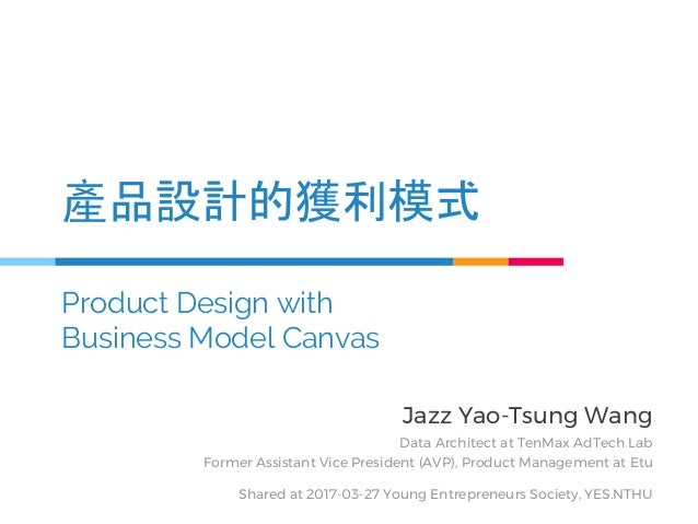 Jazz Yao-Tsung Wang Data Architect at TenMax AdTech Lab Former Assistant Vice President (AVP), Product Management at Etu S...