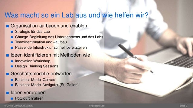 Innovation Lab as a Service - Ein Erfahrungsbericht