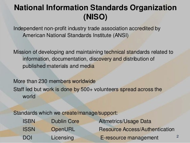 Identify Everything: Role of standard identifiers in communicating science Slide 2