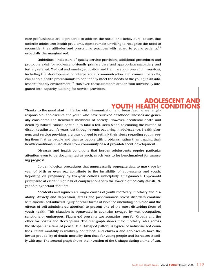 who guidelines to youth friendly care
