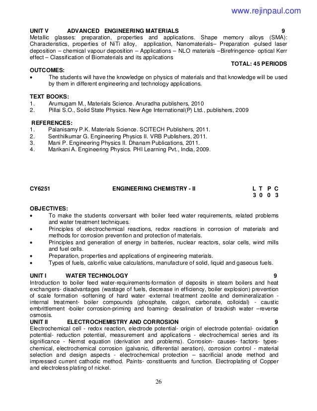 2013 regulation Annauniversity syllabus