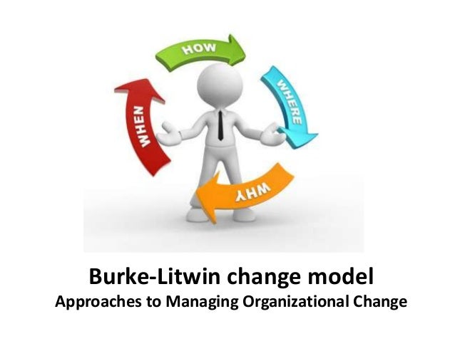 Burke-Litwin change model Approaches to Managing Organizational Change