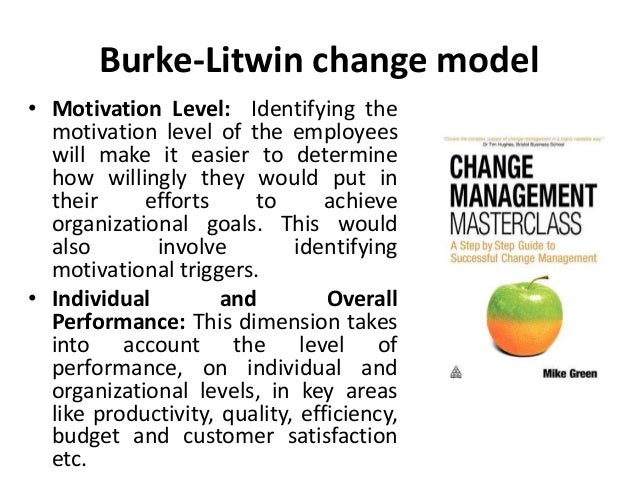 criticism burke litwin model In a changing world the only constant is change – carnall (2003) over the course of my years as a project manager, i have seen many ways stakeholder have.