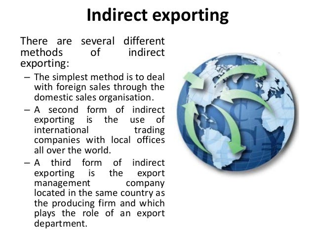 licensing exporting franchising contract manufacturing joint ventures and strategic alliances foreig There are five basic options available: (1) exporting, (2) creating a wholly owned   franchising, (4) licensing, and (5) creating a joint venture or strategic alliance ( figure  industries, licensing is most frequently used in manufacturing industries   franchising is an attractive way to enter foreign markets because it requires.
