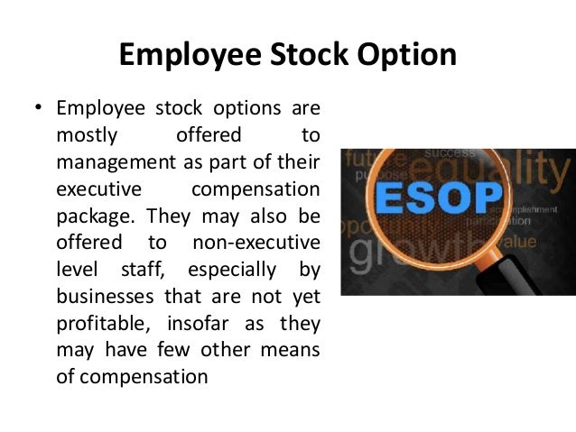 Compensation stock options