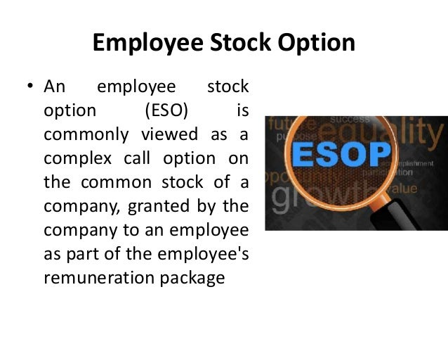 Executive employment agreement stock options