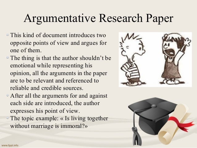 what are the two main types of research papers?