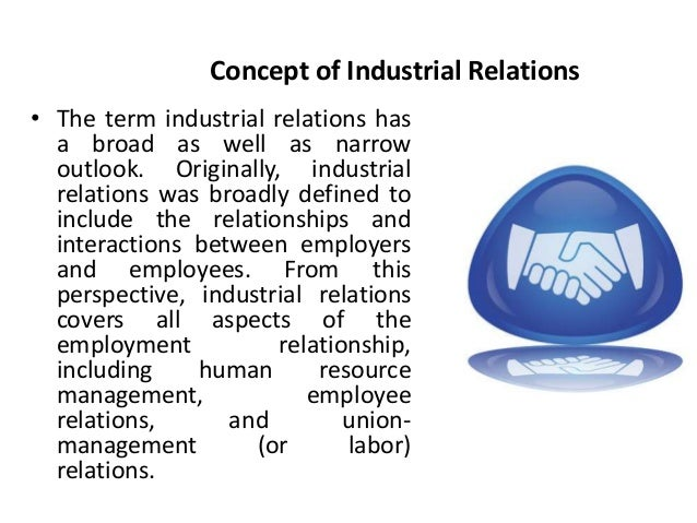 industrial relations and government intervention Government intervention in labour disputes works of choice of procedures and ad hoc laws encouraging voluntary settlment u of industrial relations.