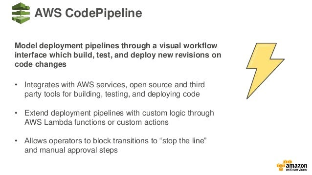 Building a CICD Pipeline for Container Deployment to Amazon