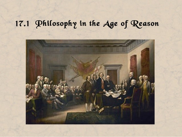 17.1 Philosophy in the Age of Reason