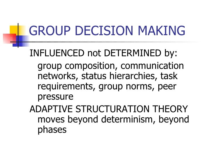 structuration theory example