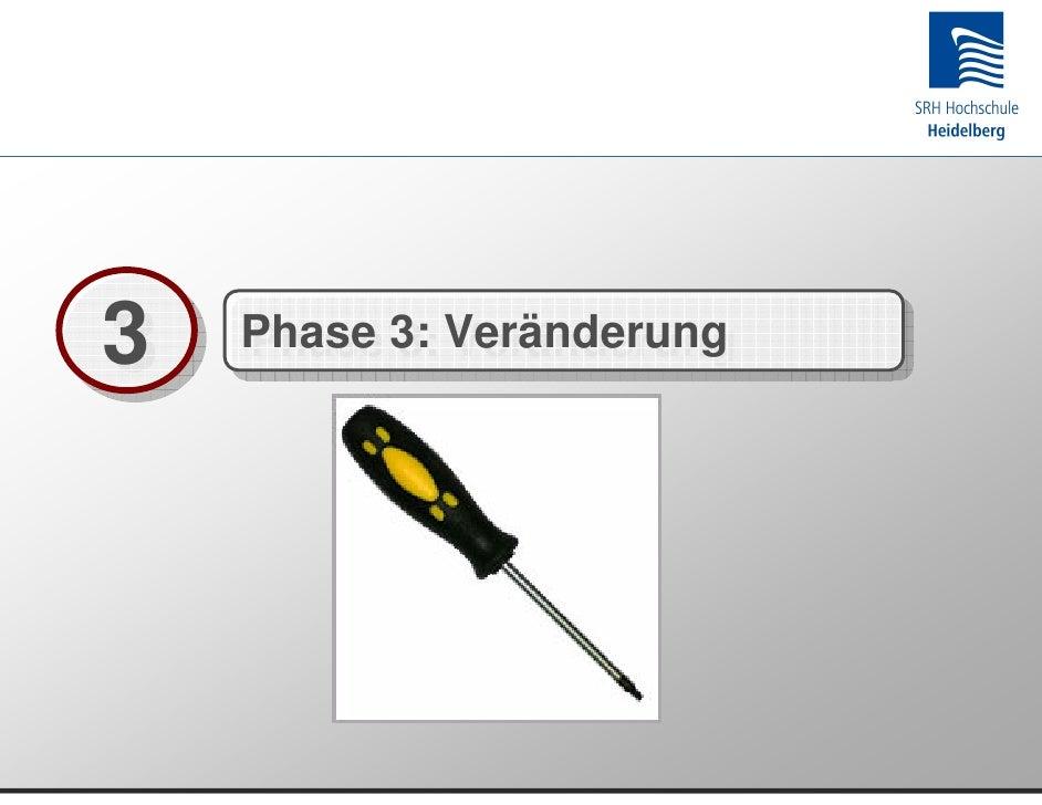 3   Phase 3: Veränderung     Phase 3: Veränderung
