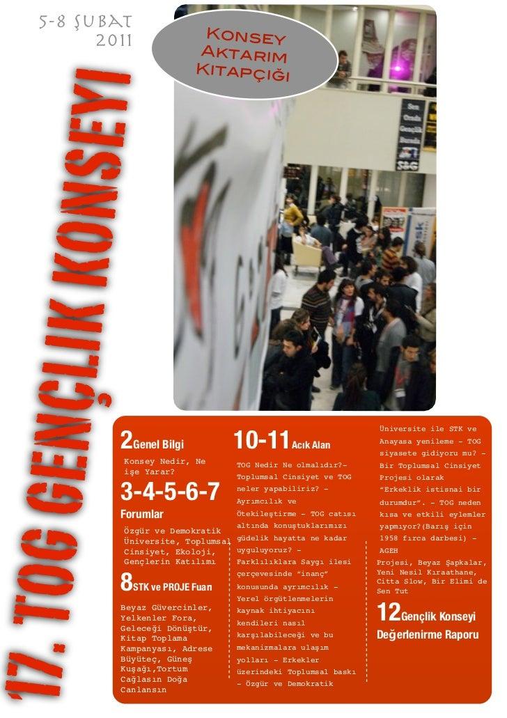 5-8 Şubat           2011                  Konsey                                Aktarım                                Kit...