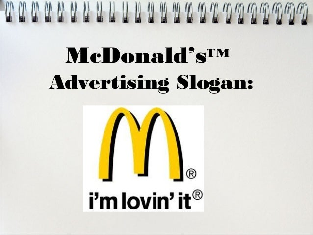 an analysis of ads slogan A rhetoric-based analysis of chinese public slogans of conceptual metaphor in advertising slogans published in studies in literature and language.
