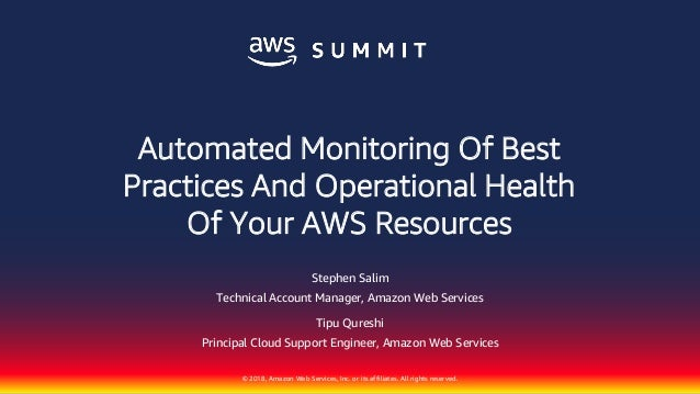 Automated Monitoring of Best Practices and Operational Health of Your…