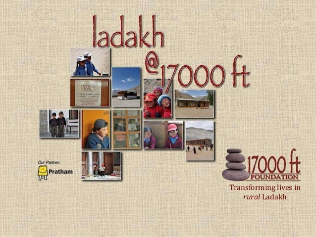 Transforming lives in rural Ladakh